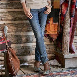 Driftwood Audrey Straight Dark Wash Jeans 28